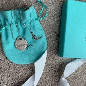 Return To Tiffany Heart&key